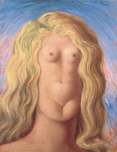 LO STUPRO, René Magritte, 1945