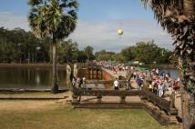 L'ingresso di Angkor Wat